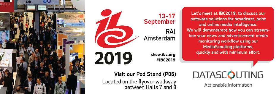 IBC Show 2019 Amsterdam